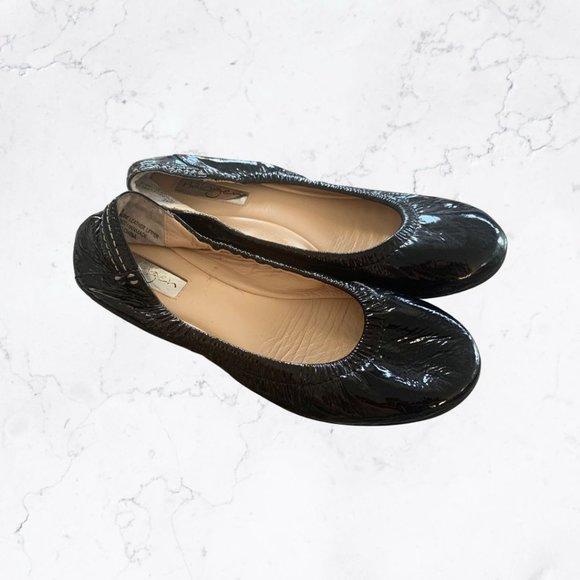 HALOGEN Patent Leather Flats Sz 6